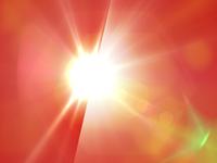 Orange Background Flare