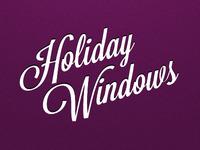 Holiday Windows