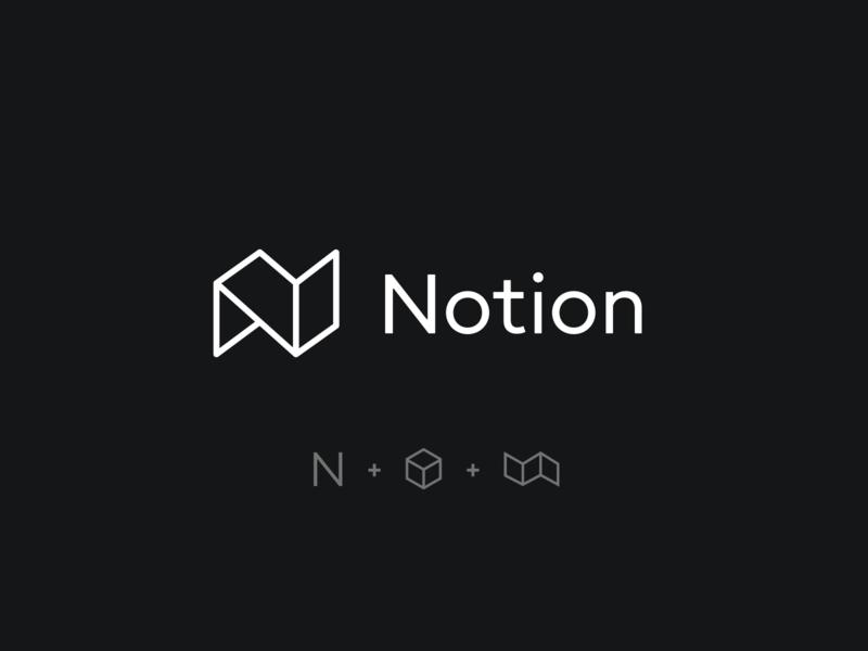 Notion logo redesign logo design logotype typography mark branding design branding concept identity notion branding concept redesign concept logo