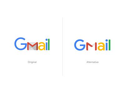 Gmail Logo Exploration unfold mark design gmail typography clean google logotype rebranding branding exploration logo concept