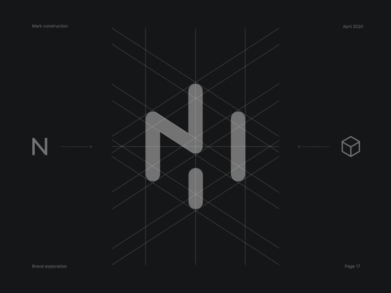 Mark concept design unfold presentation cube brand guidelines branding exploration brand exploration proposal concept logo design logo mark mark