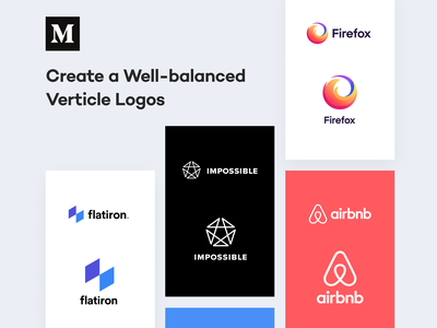 Create a Well balanced Vertical Logos - Medium Article principles mark typography alignment unfold logo guidelines guidelines guide learning rules branding logo design medium article medium article