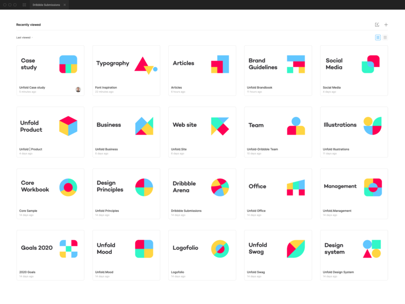 Unfold project icons app design app service cloud design logo mark organize projects figma design figma branding unfold icons pack icon set icons