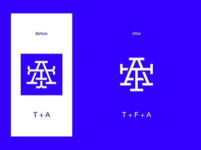 The Futur Academy a f t unfold mark logo mark abbreviation learn future futur academy rebrend icon redesign logo design design branding