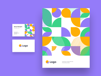 Branding brand kit ui logo brand exploration graphic design texture pattern business card unfold stationery brand identity illustration branding