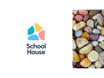 SchoolHouse brand explorations design unfold brand exploration modern icon education schoolhouse school identity design brand identity typography mark logo design branding