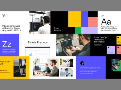 Stylescape coders developers moodboard design type ux ui unfold layout colors typography mark branding webdesign stylescape