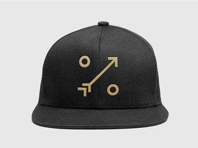 One percent luck logo mark icon hunting youtube podcast wild arrow bowhunting archery identity branding logo