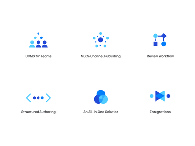 Paligo icons organize docs workflow vector unfold technical software documentation paligo icon set design branding illustration iconography icons