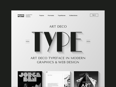 Landing page unfold figma black and white layout design ui design art deco art illustration font typography type web design landing page