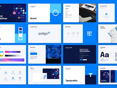 Brandbook paligo brand guidelines logo design typography unfold organize documents logo system color palette layout design guidebook brand identity style guide branding brandbook
