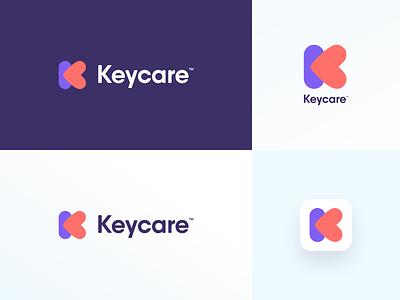 Logo concept broshure medical cancer logotype mark identity design branding icon design app logo design heart care health keycare logodesign logo