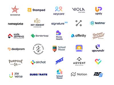 Logo Collection 2020 app unfold mark logotype type typography 2020 design identity portfolio logofolio logo collection branding icon logo design