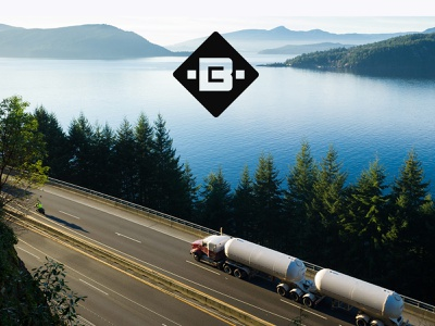 BC Road Builders rebranding redesign concept bc maintenance building construction road letter b identity unfold typography logotype branding mark logo