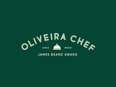 Ghaya Oliveira logo concept outstanding pastry pastry chef award cooking cook identity chef unfold logotype typography logo design