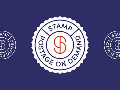 Stamp Logo concept s logo letter s logotype stamps post postage typography unfold logo badge logo concept branding logo design stamp