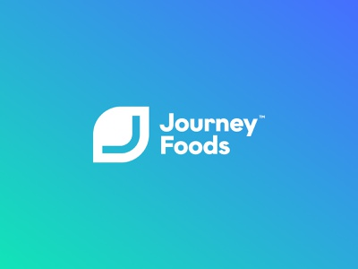 Journey Foods monitoring research typography color palette path letter j engine nutrition marketplace products lifecycle intelligence software journey foods journey foods unfold brand identity logo design branding