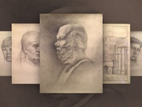 My Student Works | Pencil drawings