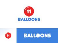 11 Balloons - Logo Design