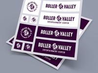 Roller Valley Logo System