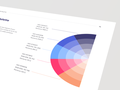Color Palette style guide manual guidelines colour palette ui colors color palette brand book brand identity brand guide brand design