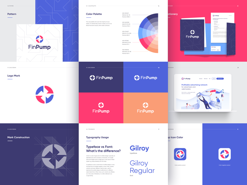 Brand Guidelines By Benjamin Oberemok On Dribbble