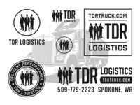 TDR Logistics - Brand Identity System