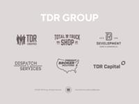 TDR Group - Brand Identity