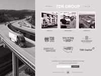 TDR Group - Web Design