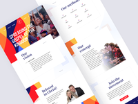 Flame of fire Web Design