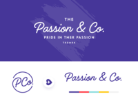Passion & Co. Logo Exploration