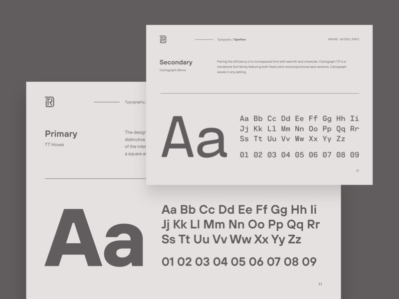 Typography design system unfold ui typography type style guide manual seattle brand identity brand guide brand guidelines brand designer brandbook brand