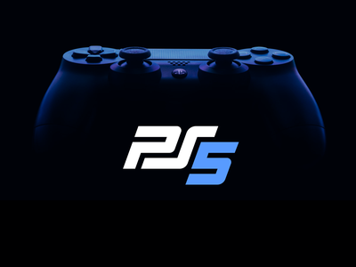 PS5 Logo rebrand unfold xbox redesign nintendo gaming sony playstation ps4 ps5 logotype logo typography branding