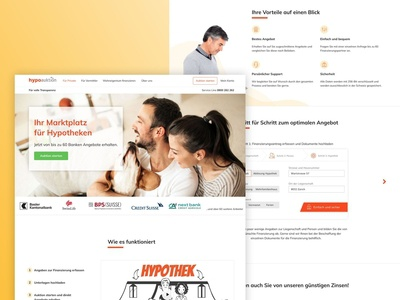 Hypoauktion - landing page
