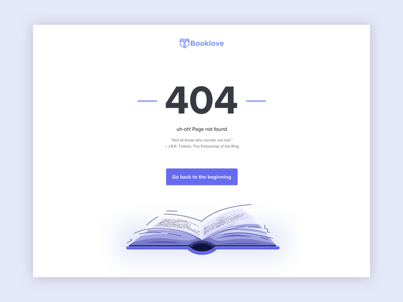 404 Page branding web quote clean ui book vector illustration 404 404 page