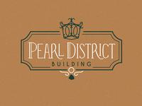 Pearl District Wedding Venue Logo