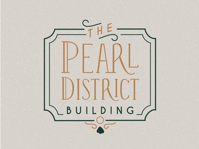Pearl District Wedding Venue Logo