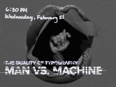 Man Vs. Machine: Dribbble Meetup, 2-21-18