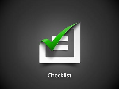 Checklist app icon checklist logo todo