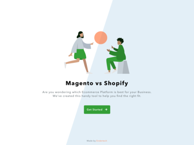 Interactive Landing Page - Get Started I