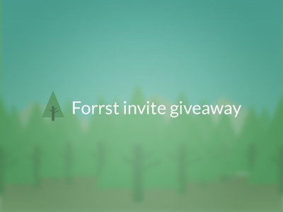 Forrst Invite Giveaway