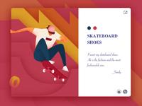 I love my skateboard shoes.