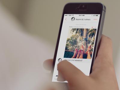 wāv - public chat chat app social ios8 mobile