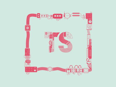 True Story logo illustration startup logo illustration true story typography