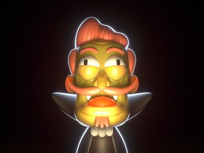 Vamps Toy c4d cinema4d 3d characterdesign illustration character