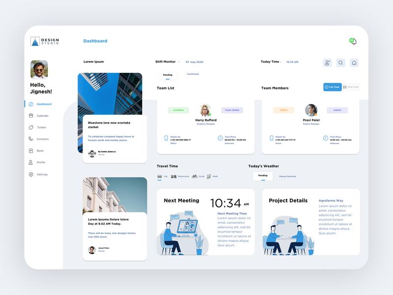 Dashboard adobe figma creative design 2020 trend travel branding dribbble blue mockup web design ui vector flat illustration studio