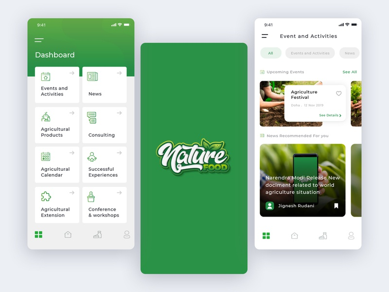 Agriculture App adobe figma buy sell foodie agriculture vector branding illustration ios android app mobile creative