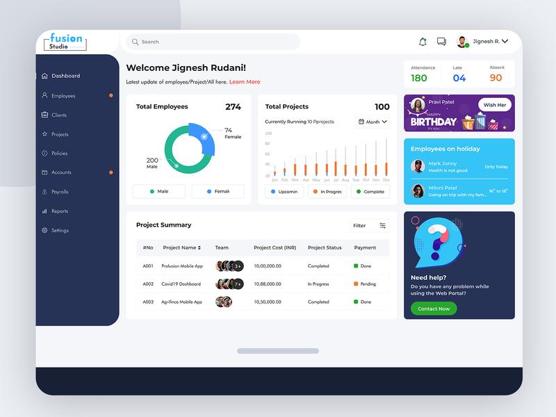 Dashboard - Management macbook branding mobile support holiday uiuxdesign webdesign management mockup dashboard design