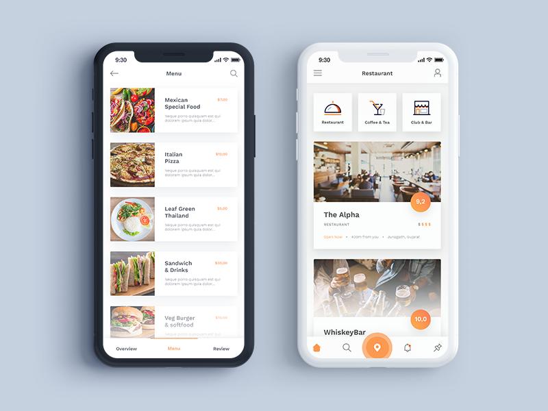 Menu Restaurant App By Ryan Creation On Dribbble