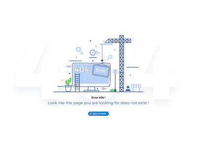 Error 404 new 2018 layout flat web back to home not found 404 error